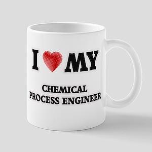 I love my Chemical Process Engineer Mugs