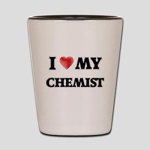 I love my Chemist Shot Glass