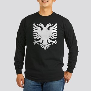 Shqipe - Double Headed Griffin Long Sleeve T-Shirt