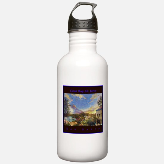 Cruz Bay, St. John Water Bottle