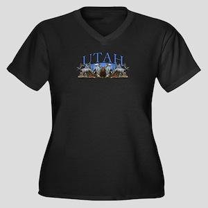 Utah big game Plus Size T-Shirt