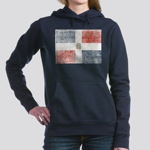 Dominican Republic Distressed Flag Sweatshirt