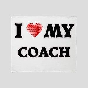 I love my Coach Throw Blanket