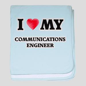 I love my Communications Engineer baby blanket