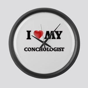 I love my Conchologist Large Wall Clock