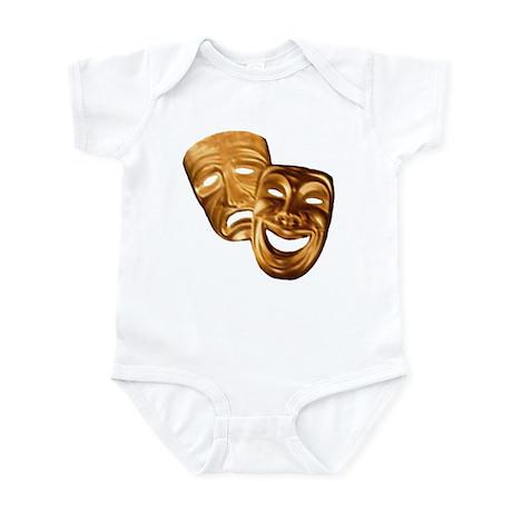 MASKS OF COMEDY & TRAGEDY Infant Bodysuit