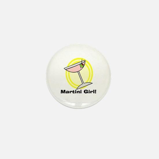 Martini Girl! Mini Button