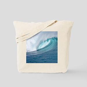 Waimea Bay Big Surf Hawaii Tote Bag