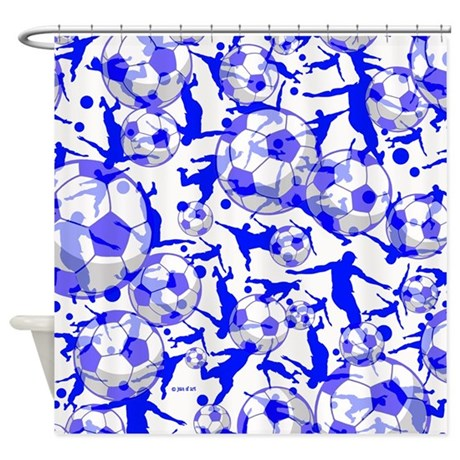 Soccer Shower Curtain By Admin CP6710670