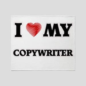 I love my Copywriter Throw Blanket