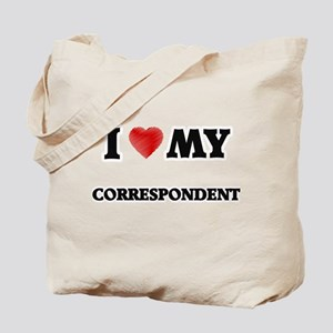 I love my Correspondent Tote Bag