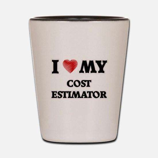 I love my Cost Estimator Shot Glass