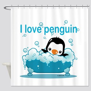Penguin Shower Curtain