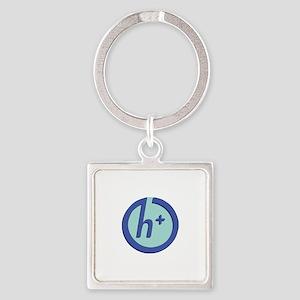 Transhumanist Logo Keychains