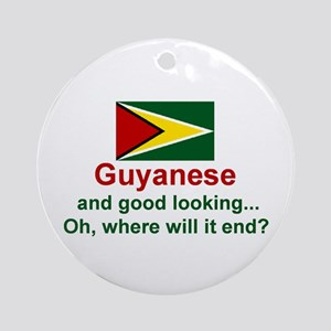 Guyana-Good Looking Keepsake Ornament