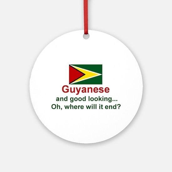 Guyana-Good Looking Keepsake Ornament