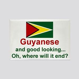 Guyana-Good Looking Rectangle Magnet