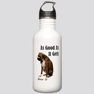Good Boxer Dog Stainless Water Bottle 1.0L