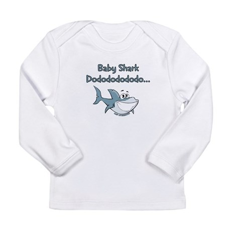 baby shark Long Sleeve T-Shirt