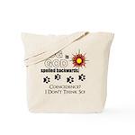 Dog is God Spelled Backwards Tote Bag
