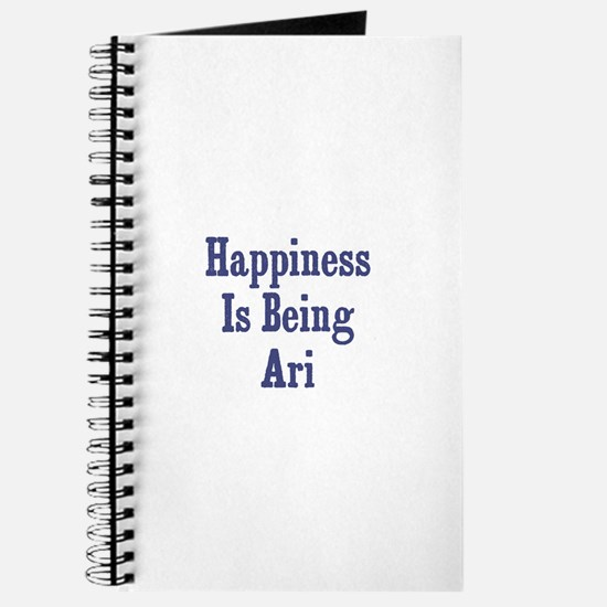 Happiness is being Ari Journal