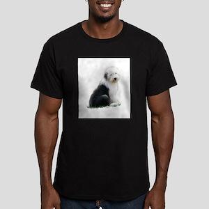 old english sheepdog puppy sitting T-Shirt