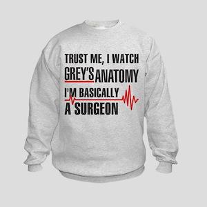 Greys Anatomy Trust me Sweatshirt