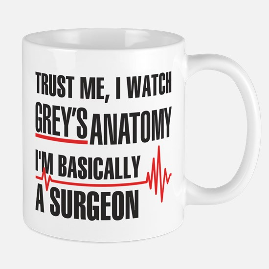 Greys Anatomy Trust me Mugs