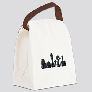 Graveyard Canvas Lunch Bag