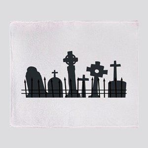 Graveyard Throw Blanket