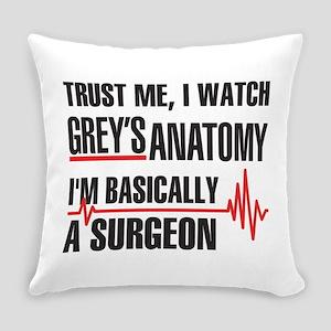 Greys Anatomy Trust me Everyday Pillow
