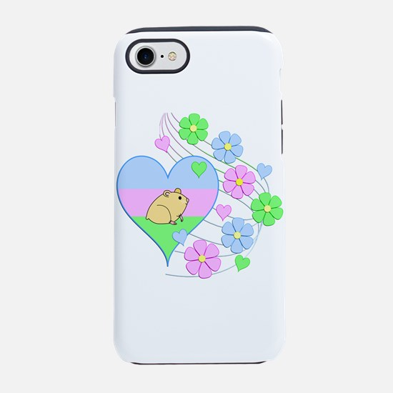 Fun Hamster Heart iPhone 8/7 Tough Case
