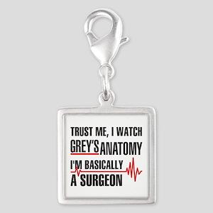 Greys Anatomy Trust me Charms