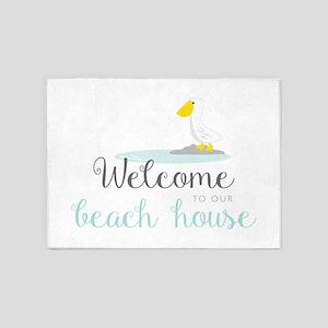 Beach House 5'x7'Area Rug