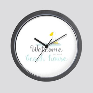 Beach House Wall Clock