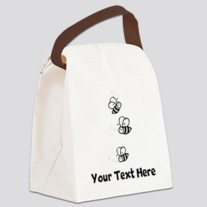 Bees (Custom) Canvas Lunch Bag