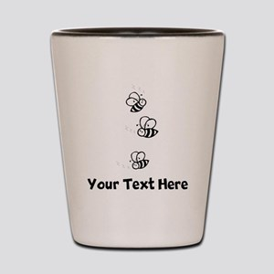 Bees (Custom) Shot Glass