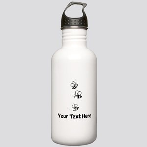 Bees (Custom) Water Bottle