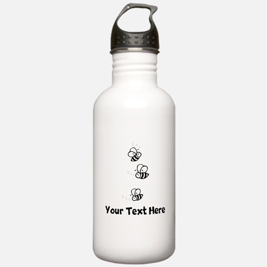 Bees (Custom) Water Bottle