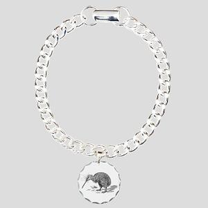 Vintage Kiwi Bird New Ze Charm Bracelet, One Charm