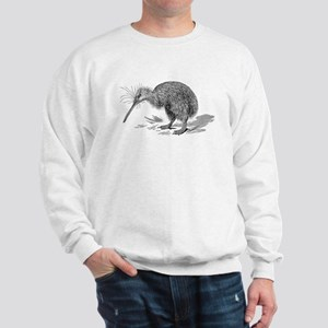 Vintage Kiwi Bird New Zealand Birds Bla Sweatshirt
