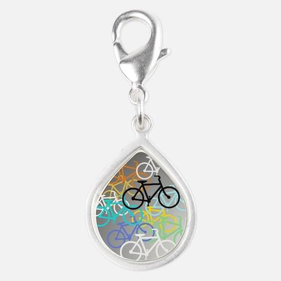 Colored Bikes Design Charms