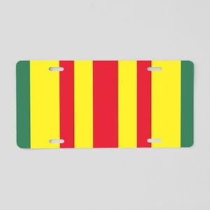 Vietnam War Ribbon Aluminum License Plate
