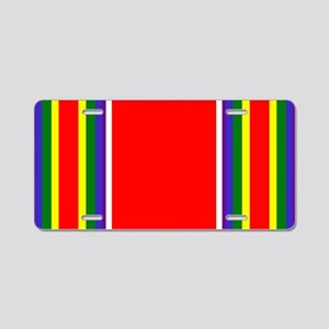 WW2 Ribbon Aluminum License Plate