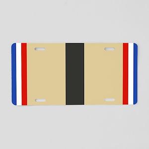 Desert Storm Ribbon Aluminum License Plate