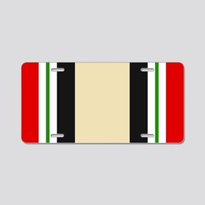 Iraq War Ribbon Aluminum License Plate