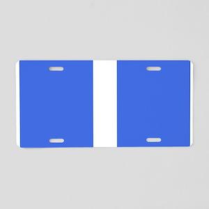 Korean War Ribbon Aluminum License Plate