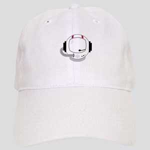 Astronot Helmet Baseball Cap
