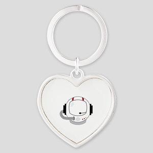 Astronot Helmet Keychains