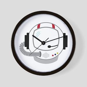 Astronot Helmet Wall Clock